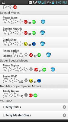 Guide for KOF XIII screenshot apk 0
