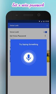 Voice Lock Image