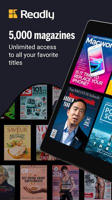 Image 1 of Readly - Read Unlimited Digital Magazines