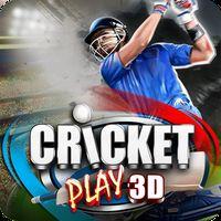 Ícone do Cricket Jogar 3D:Live The Game