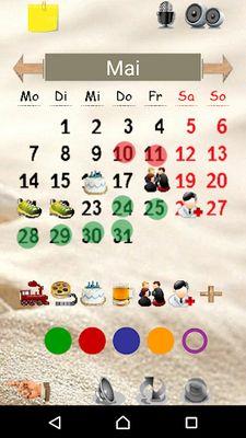 Image 1 of Calendar Paint