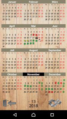 Picture of Calendar Paint