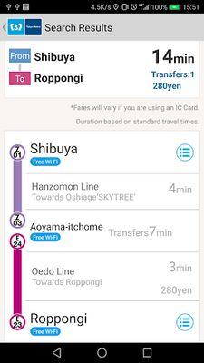 Image 3 of Tokyo Subway Navigation