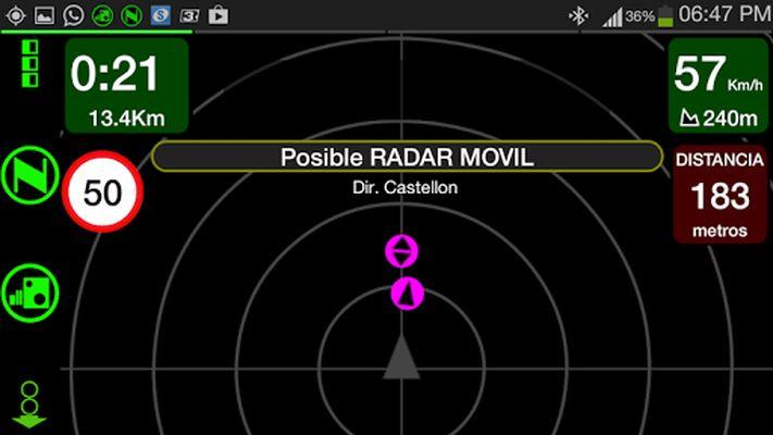 Image 1 of NOTON radar warning device