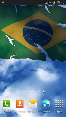 Brazil Flag Live Wallpaper Android Free Download Brazil Flag