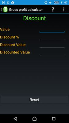 Image 1 of Gross Profit Calculator