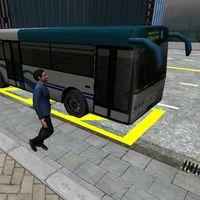 3D Şehir sürüş - Otobüs Park Simgesi