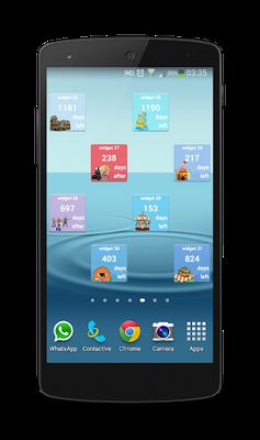 Image 1 of Day Counter Widgets