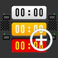 Multi Stoppuhr und Timer Icon