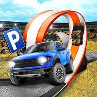 3D Monster Truck Parking Game Simgesi