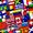 Bandeiras do mundo triviais