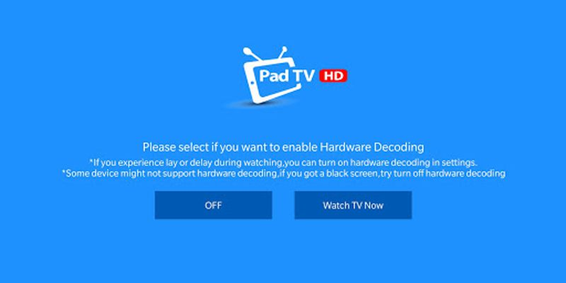 PadTV HD picture