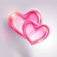 Romantisch Hart Achtergrond icon