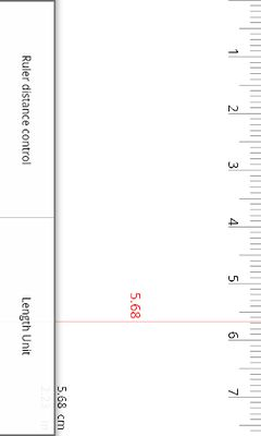 Image 2 of Ruler (centimeters, inches)