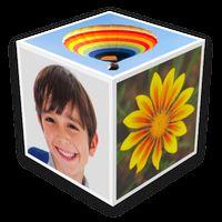 Ícone do Photo Cube Live Wallpaper