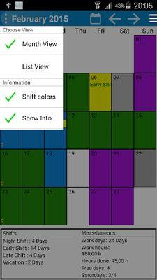 Shift Wage Planer Image 4