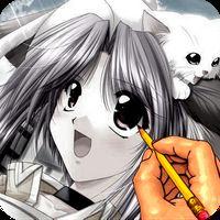 Icône de Dessiner Anime tutoriel manga