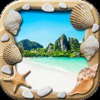 Ícone do Praia Molduras Para Fotos