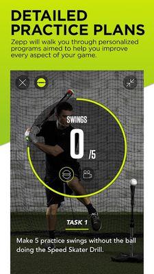 Image 1 of Zepp Baseball - Softball