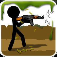 Stickman And Gun Icon