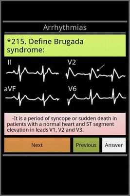 Image 4 of Cardiology exam questions