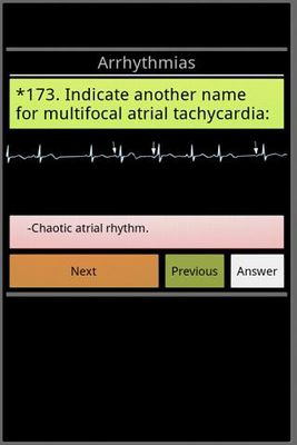 Image 5 of Cardiology exam questions