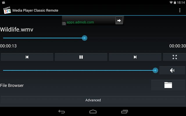 Image 3 of Media Player Classic Remote