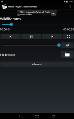 Image 16 of Media Player Classic Remote
