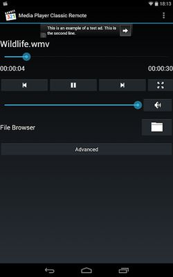 Image 4 of Media Player Classic Remote