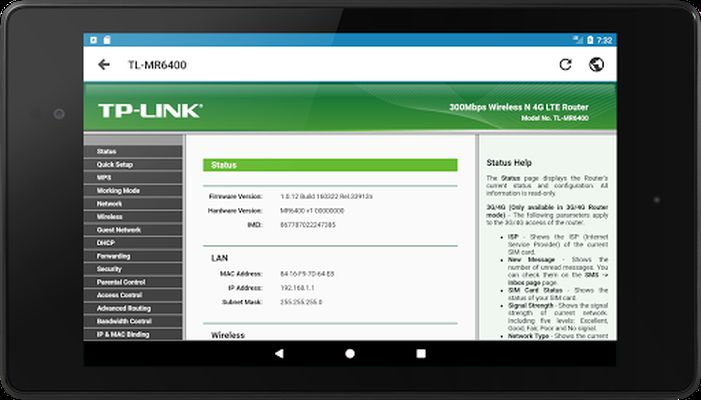 Image from IP Tools: Network utilities