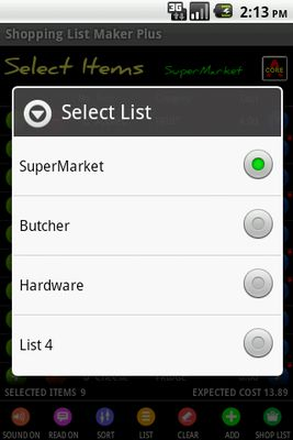 Image 7 of Shopping List Maker Plus