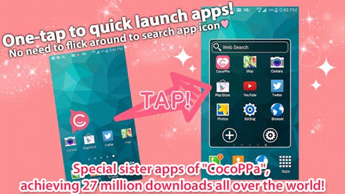 App Launcher ★ CocoPPa Pot Screenshot Apk 2