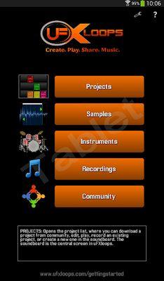 UFXloops Music Studio Video