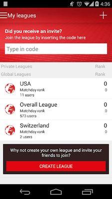 Fantasy UEFA Euro Qualifiers screenshot apk 2