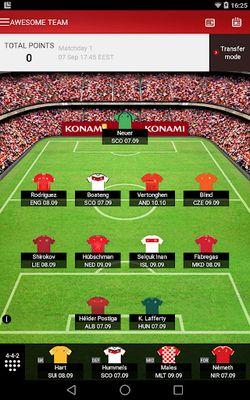 Fantasy UEFA Euro Qualifiers screenshot apk 1