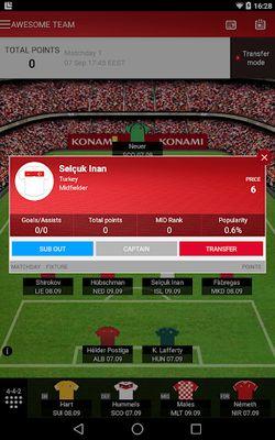 Fantasy UEFA Euro Qualifiers screenshot apk 7