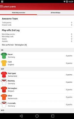 Fantasy UEFA Euro Qualifiers screenshot apk 8