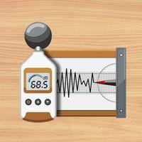 Ícone do Decibelímetro :Sound Meter Pro