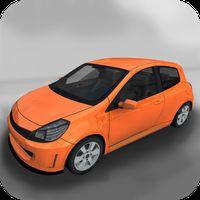Şehirde Araba Park Etme 3D Simgesi