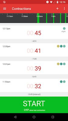 Image 3 of Contraction Timer