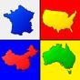 Mapas de los países del mundo