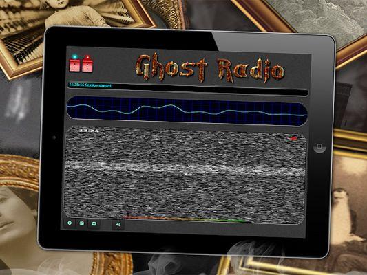 Radio EVP Paranormal Ghost Image 1