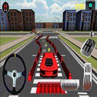 Araba 3D Otopark Simgesi