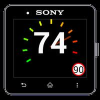Speedometer for SmartWatch 2 icon