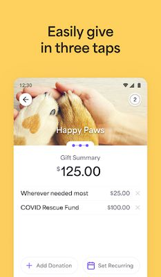 Image 1 of Givelify Mobile Giving App