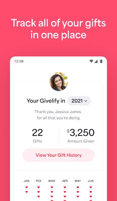 Givelify Mobile Giving App Image