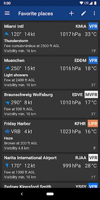 Image 4 of Avia Weather - METAR & TAF