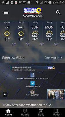 Image 2 of WTVM Storm Team 9 Weather