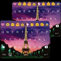 Иконка Paris Night Keyboard -Emoji