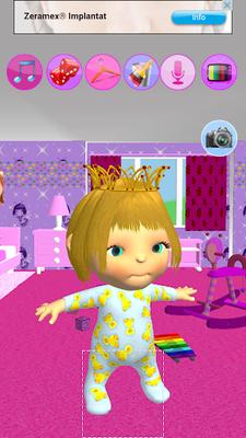 Mädchen Spiele Baby